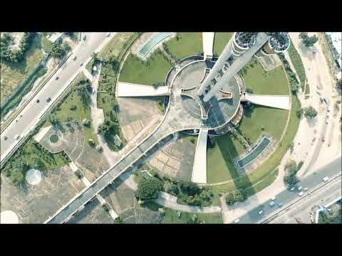 Kinshasa vue du ciel la capitale de la RDC
