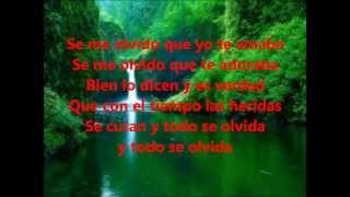 Letras: Frank Reyes- Se Me Olvido Que Te Amaba