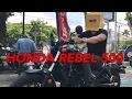 HONDA REBEL 500  2017 indonesia