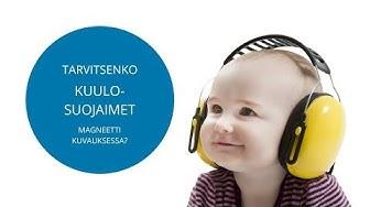 Tarvitsenko kuulosuojaimet magneettitutkimukseen?