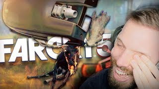 I BROKE MYSELF (couldn't stop laughing)!! • Far Cry 5 Zombies DLC Co-op