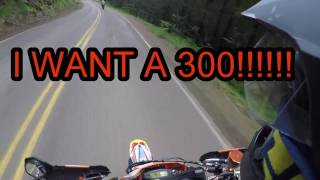 STREET LEGAL KTM 300 2-STROKE SUPERMOTO?!?!