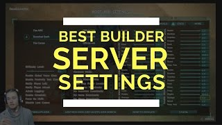"Best ""Builder's"" server settings for Ark Survival"