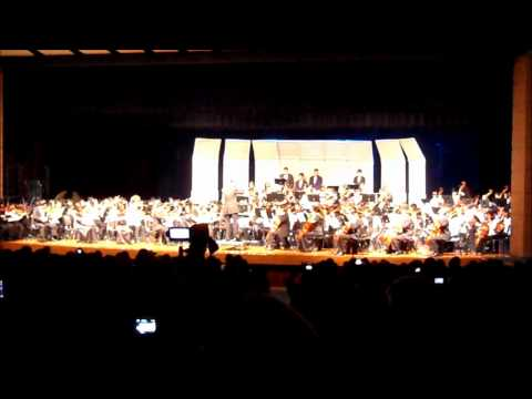 Themes from Harry Potter - Truitt Middle School & Cy-Ridge High School Full Orchestra