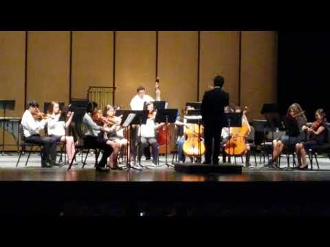 The Ash Grove performed by Black Diamond Middle School  String Orchestra  with Mr. Damian Ting