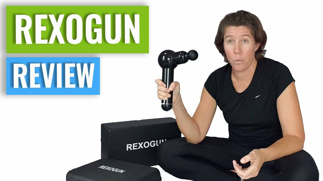 Rexogun Review - How To Use A Massage Gun - YouTube