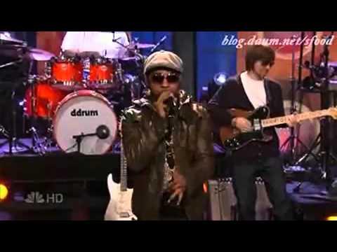 Musiq Soulchild BUDDY  on Jay Leno 2007