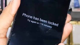 Phone has been locked how to unlock Mi Note 4 Redmi note 3 pattern lock