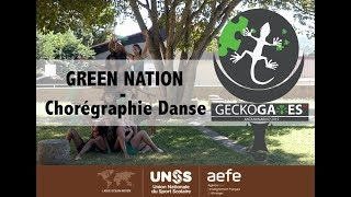 "DANSE - ""Green Nation""  - GECKOGAMES - Collège Guy Moquet La Reunion"