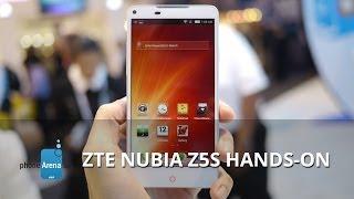ZTE Nubia Z5s hands-on