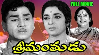 srimanthudu full length telugu movie    akkineni nageswara rao jamuna    ganesh videos dvd rip