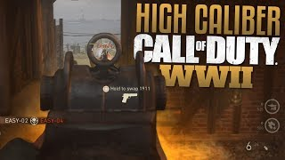 Call of Duty: WW2 High Caliber (CoD WWII Multiplayer Gameplay)