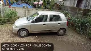 Used car for sale - Alto 2005 - LXI - contact 9656-019-256