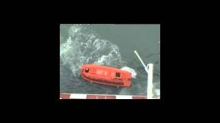 Container Ship Life boat
