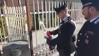 Omaggio alla caserma Carabinieri di Larino