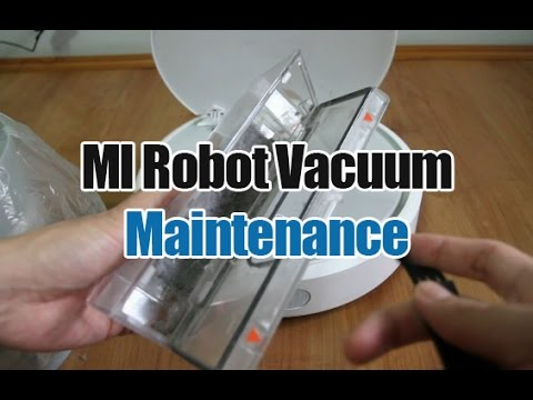 Xiaomi MI Robot Vacuum Maintenance (Emptying the Dirt Bin, Cleaning the Filter, Sensors, Etc.)