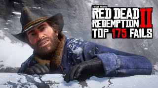 TOP 175 FUNNIEST FAILS IN RED DEAD REDEMPTION 2