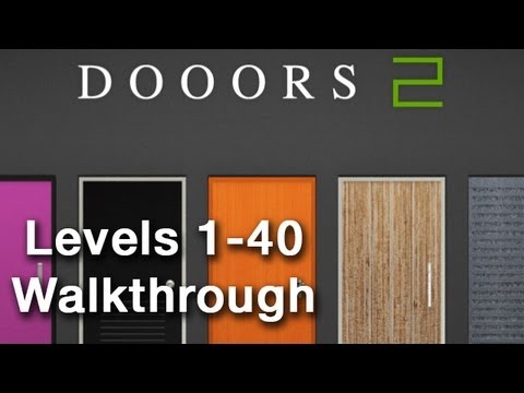 Dooors 2 Levels 1-40 Walkthrough
