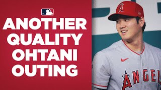 Shohei Ohtani continues pitching dominance vs Rangers! (6 IP, 1 R, 6 Ks and a W!)