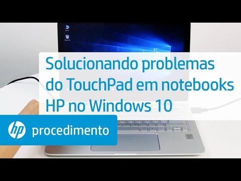 Solucionando problemas do TouchPad em notebooks HP no Windows 10