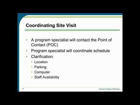 Radiation Oncology Practice Accreditation Program Webinar