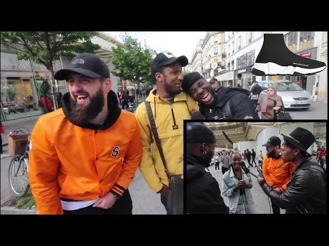 as tu des fausses CHAUSSURES/SNEAKERS !? feat. CaminoTV (Brigade Anti Fake)