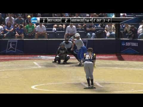 Augustana Tops West Florida At College Softball World Series