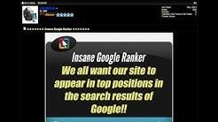 Insane Google Ranker Scam