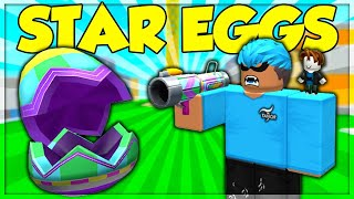 FREE STAR EGGS 🥚 FINDING ALL THE EGGS ROBLOX Egg Hunt LIVE