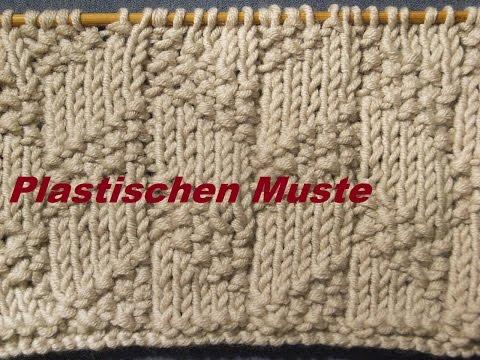 Muster 080**Stricken lernen* Muster für Pullover Strickjacke Mütze