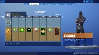 Fortnite Season 2 Battle Pass All Levels Skins, Dances, Peaks, Deltas Wing