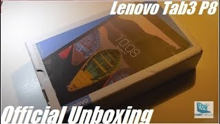 Unboxing: Lenovo Tab3 P8 Octa-Core Android Tablet!