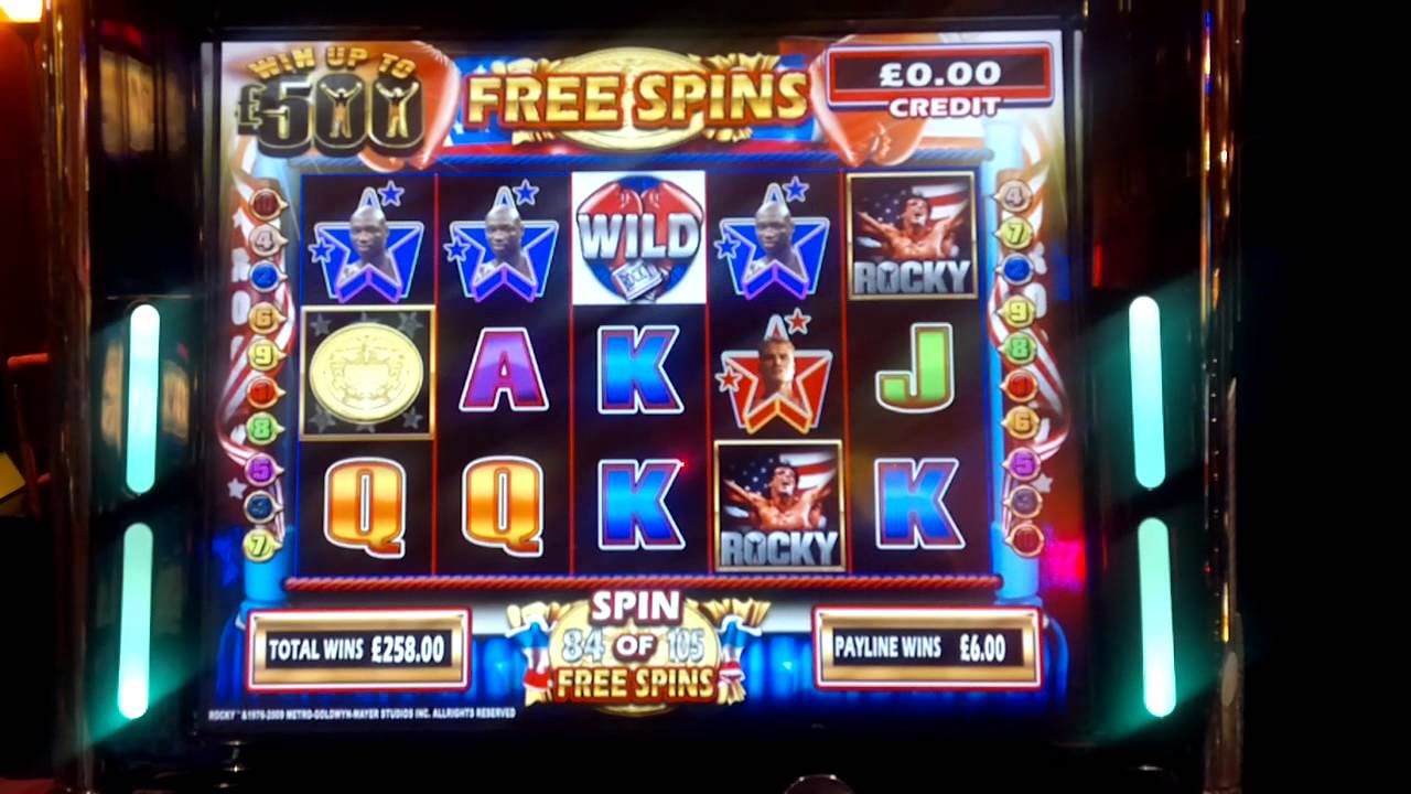 Lucky crickets slot machine