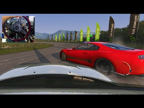 Assetto Corsa GoPro HIGHLANDS NEW HighSpeed Drift Track Online! UPDATE | SLAPTrain