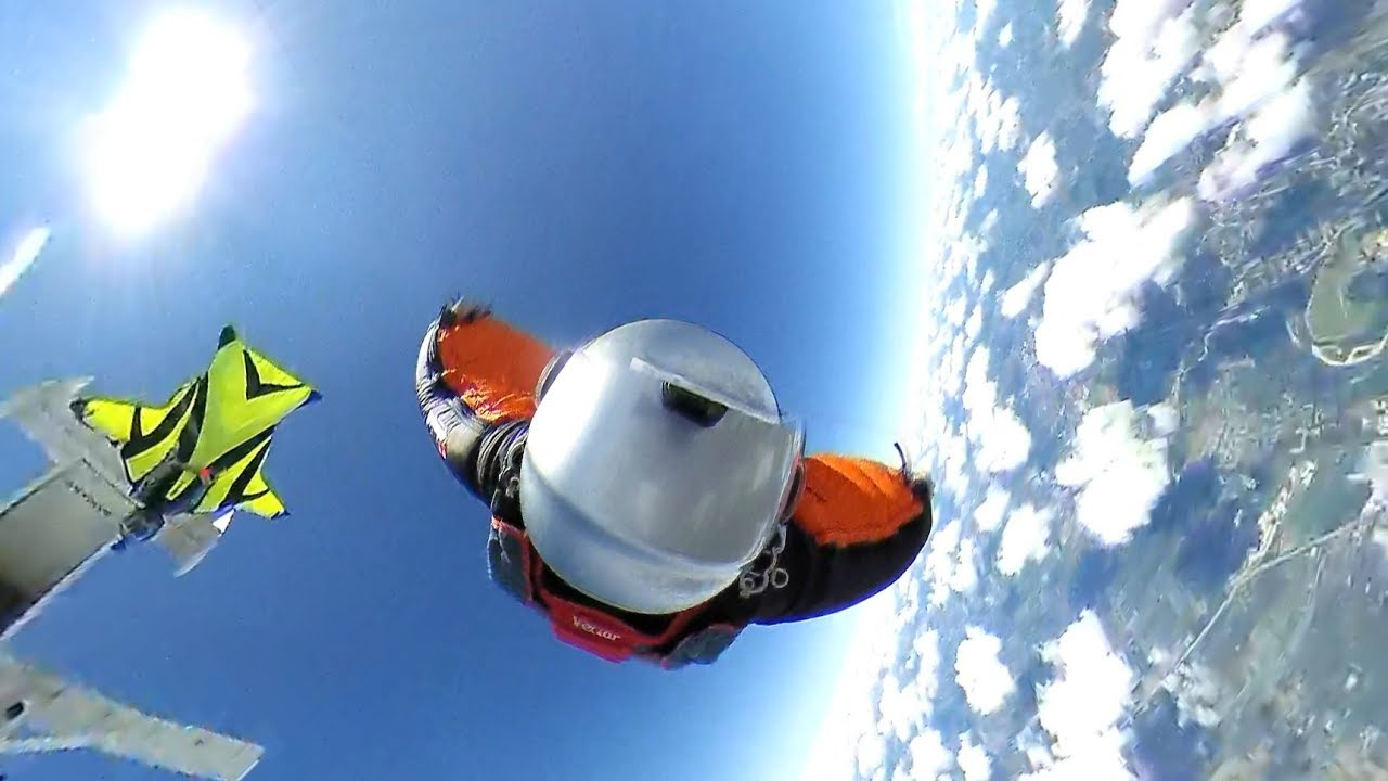 Diy halloween ghost3 - Ghost 3 Wingsuit Test Jumps