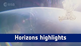 Horizons mission time-lapse – highlights