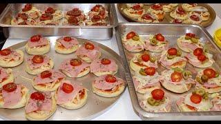Mini Pizza vários Sabores receita para Ganhar Dinheiro