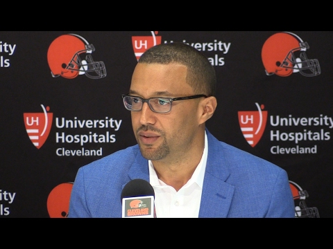 Sashi Brown shares his philosophy for the Browns