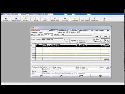 free housing society accounting software in excel
