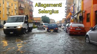 Violento Nubifragio e Allagamenti a Selargius ~ 27 Settembre 2016 | Vivere a Cagliari