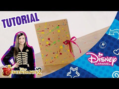 Descendants 2 | Craft Tutorial | Dizzy's Diary | Disney Arabia