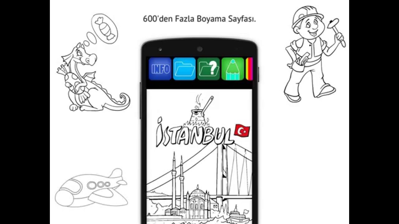 Boyama Kitabı Android And Ios App Demo Youtube
