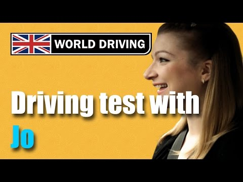 UK driving test (Jo's test) - Driving test tips. Learning to drive