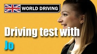 Full UK driving test (Jo