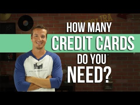How Many Credit Cards Do You Actually Need