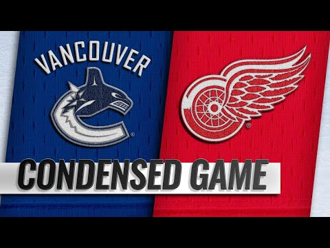 11/06/18 Condensed Game: Canucks @ Red Wings