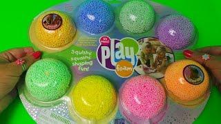Glitzy Play Foam like slime - Squishy, Squashy, Slimey ,Shaping PLAY FOAM Slime Test and Full Review