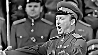 """""""Before the far journey"""" - Yevgeny Belyaev and the Alexandrov Red Army Choir (1965)"""