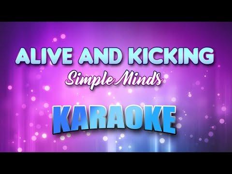Simple Minds - Alive & Kicking (Karaoke version with Lyrics)