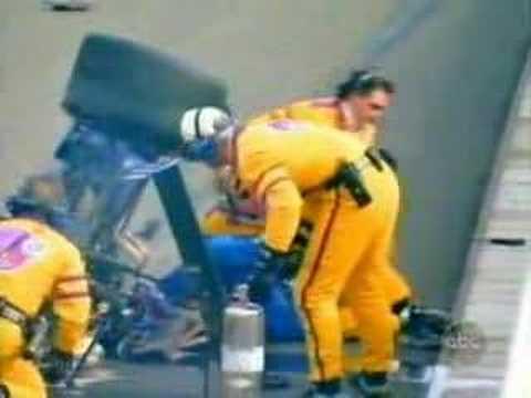 1998 CART Motegi Bobby Rahal's Crash